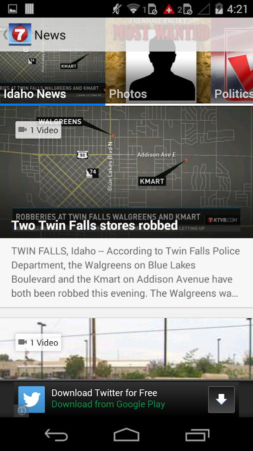 Idaho News & Weather from KTVB - screenshot