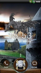 GO Locker Dragon Theme- screenshot thumbnail