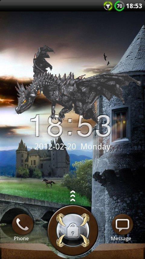GO Locker Dragon Theme- screenshot