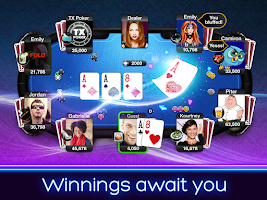 Screenshot of TX Poker - Texas Holdem Poker