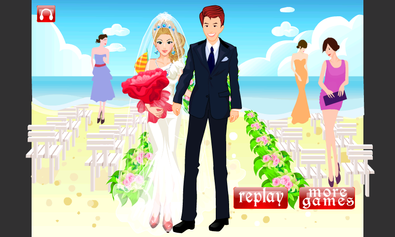Stunning Bride Dress Up - screenshot