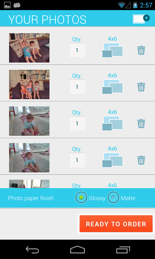 Send & Print Photos + Delivery - screenshot