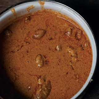 Katmis Satsivi (Chicken with Walnut Sauce)