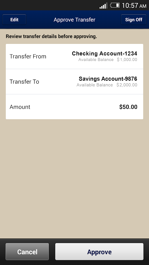 CBT Mobile Banking- screenshot