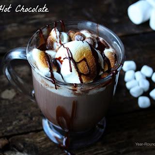Boozy Hot Chocolate.