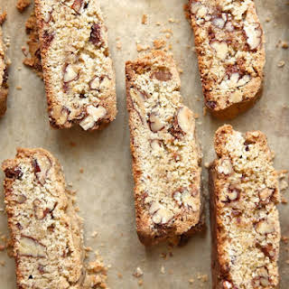 Candied Pecan Biscotti.