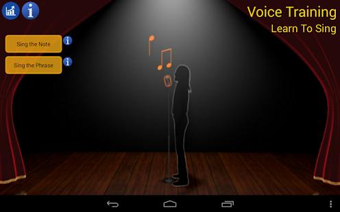 語音訓練 - 學唱