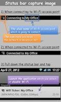 Screenshot of WiFi Ticker