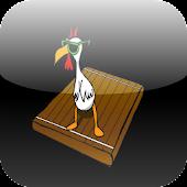 Chicken on a Raft