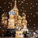 Moscow Under Snowy Glittering logo