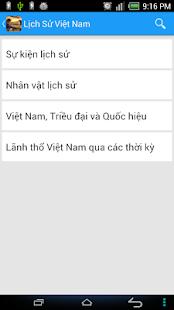 Lich su - Lịch sử việt nam