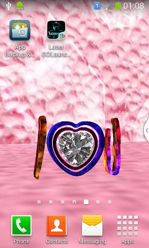 3D Diamond Love