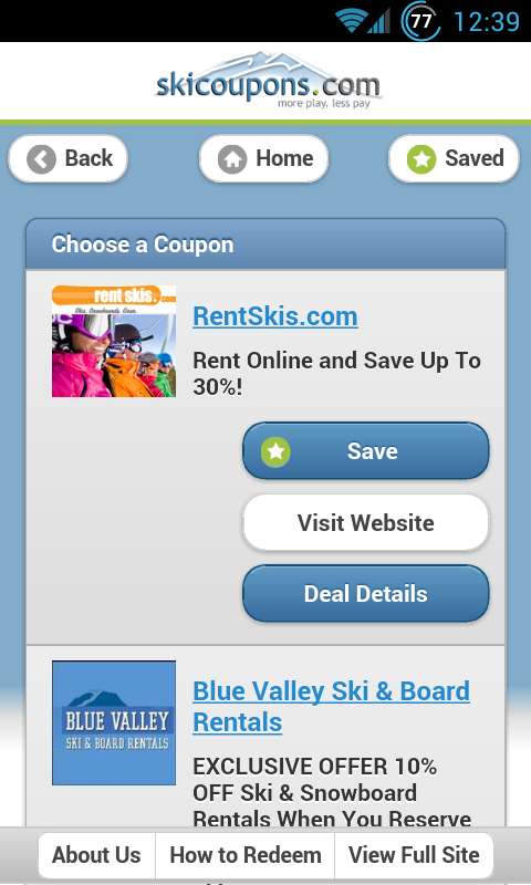Skis.com coupon code