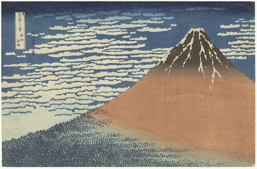 Thirty-six Views of Mount Fuji: Fine Breezy Day