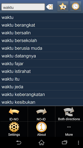 Indonesian Norwegian dict
