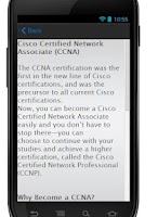 Screenshot of CCNA 640-802