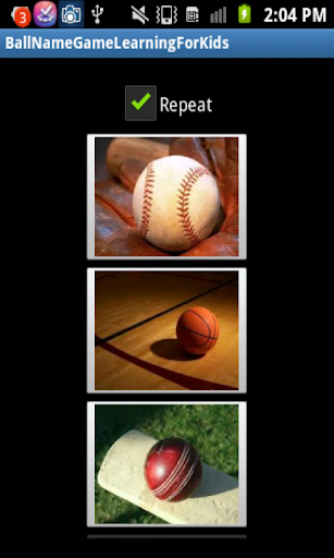 Ball Game Learning for kids