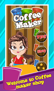 coffee maker shop