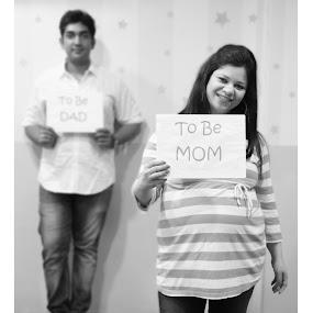 To be Mom by Shrey Chohan - People Maternity ( love, maternity, shoot, couple, baby, mom )