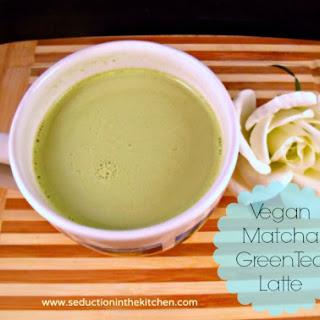 Vegan Green Tea Latte