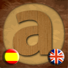 Anagram in English and Spanish icon