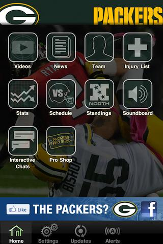 Official Green Bay Packers - screenshot
