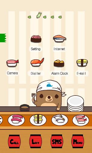 CUKI Theme Yummy Sushis