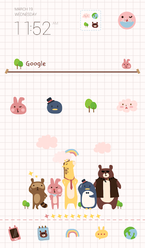 chic animals dodol theme