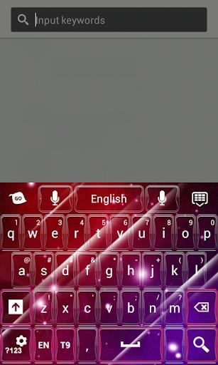 粉紅色的鍵盤Galaxyc