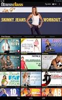 Screenshot of FitnessClass