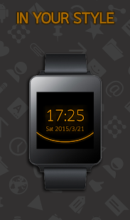 Holo Watch face- screenshot thumbnail