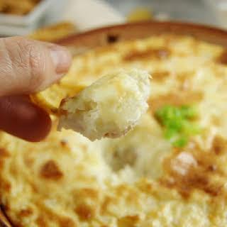 Hot Onion Souffle Dip.