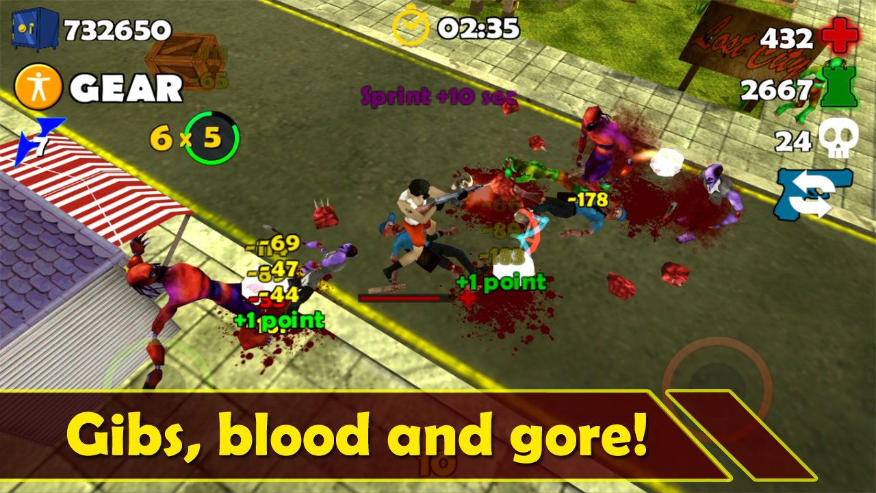 HunterX Zombie Shooter - screenshot