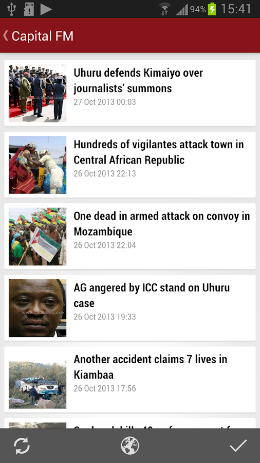 Kenya News | Newspapers - screenshot