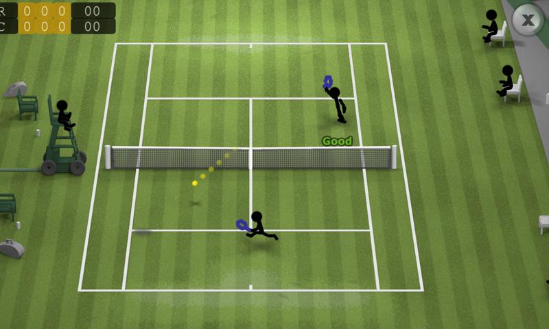 Stickman Tennis screenshot #7