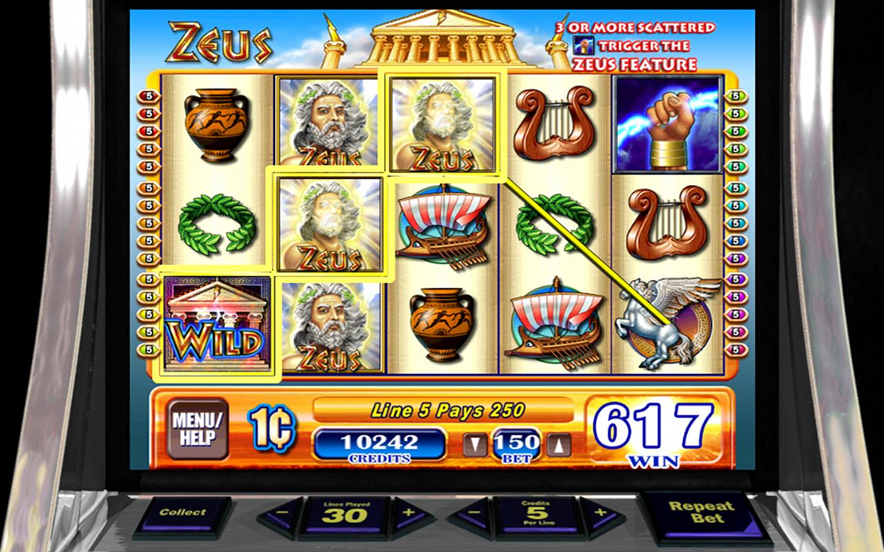 Zeus - HD Slots- screenshot