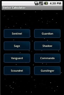 Swtor Talent Calculator- screenshot thumbnail