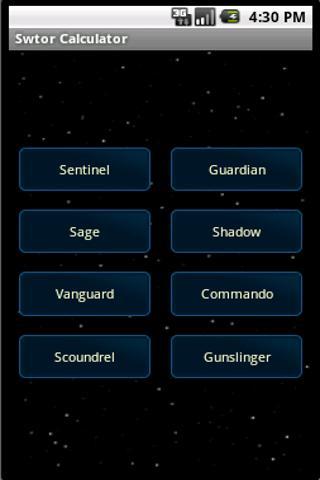 Swtor Talent Calculator- screenshot