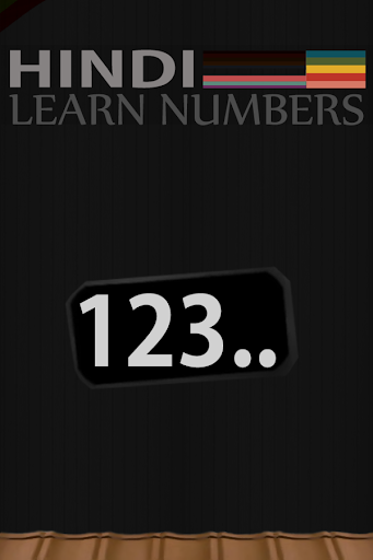 Hindi Numbers Counting
