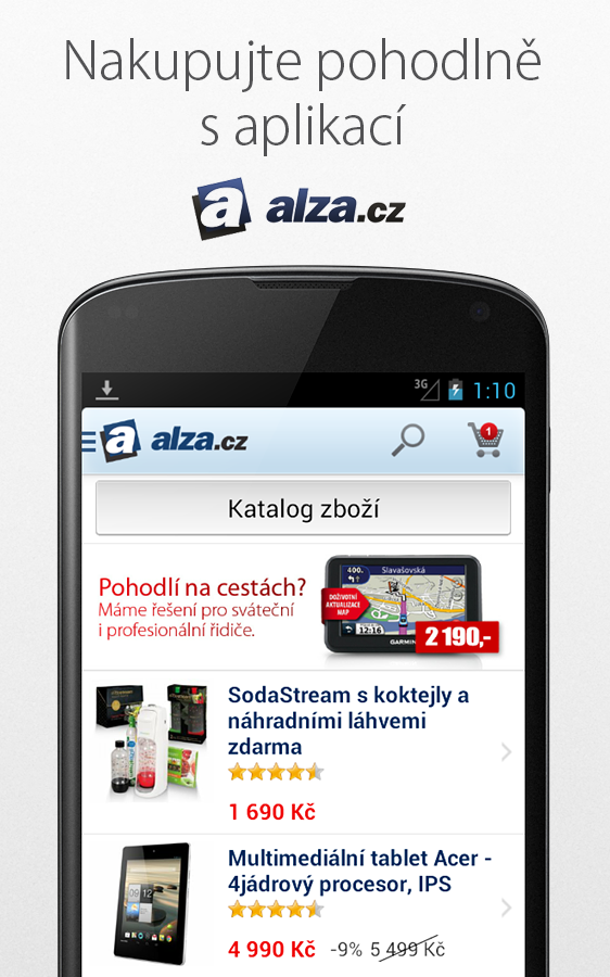 Alza.cz - screenshot