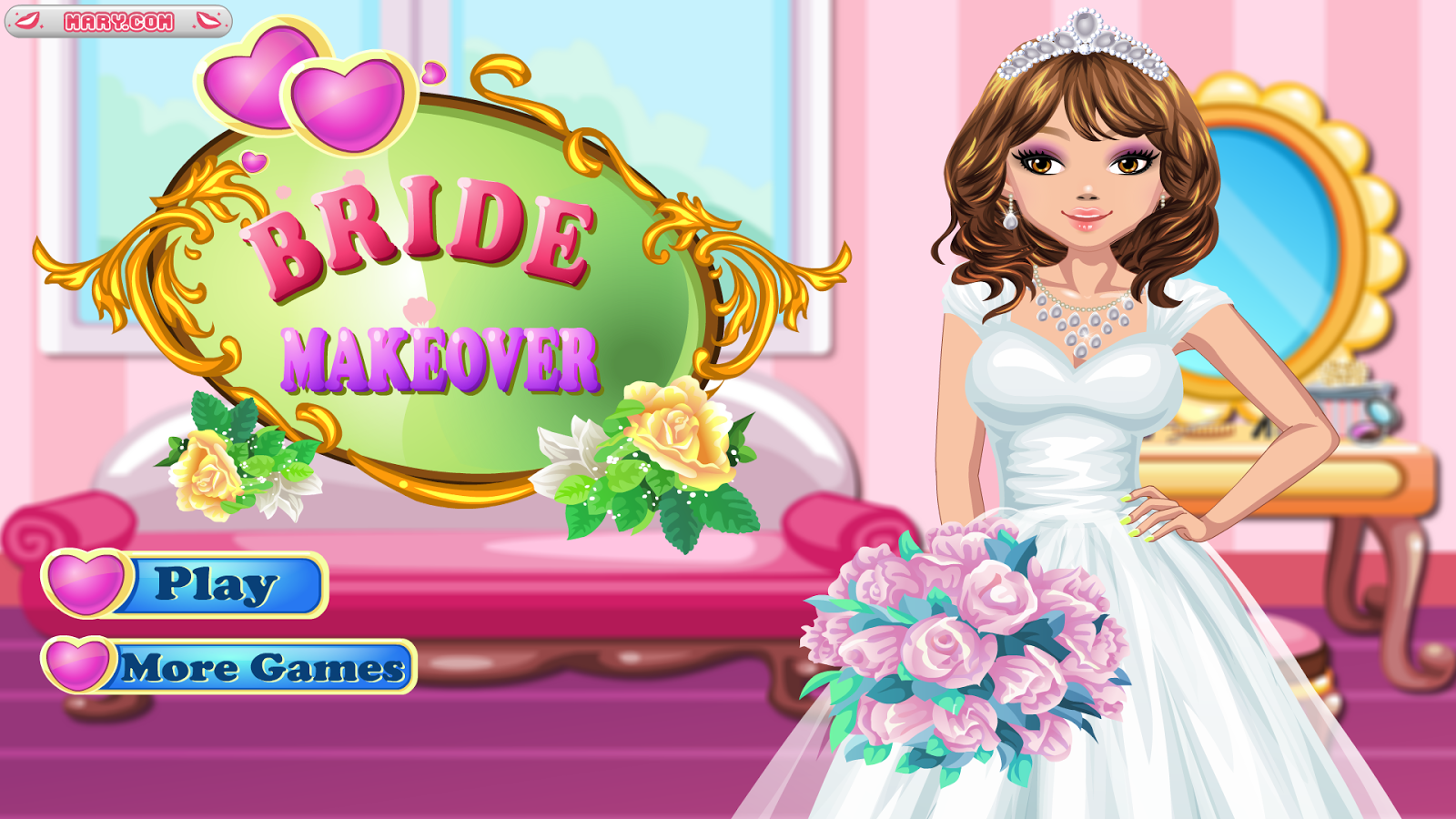 Bride Makeover - Girl Games- screenshot