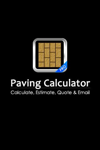 Paving Calculator PRO