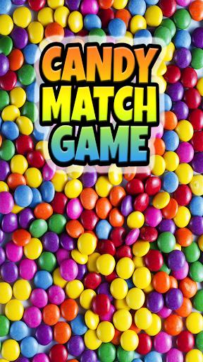 甜蜜的糖果匹配益智游戏