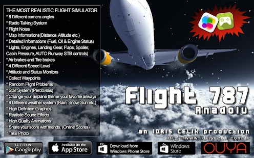 how to play flight 787 advanced lite
