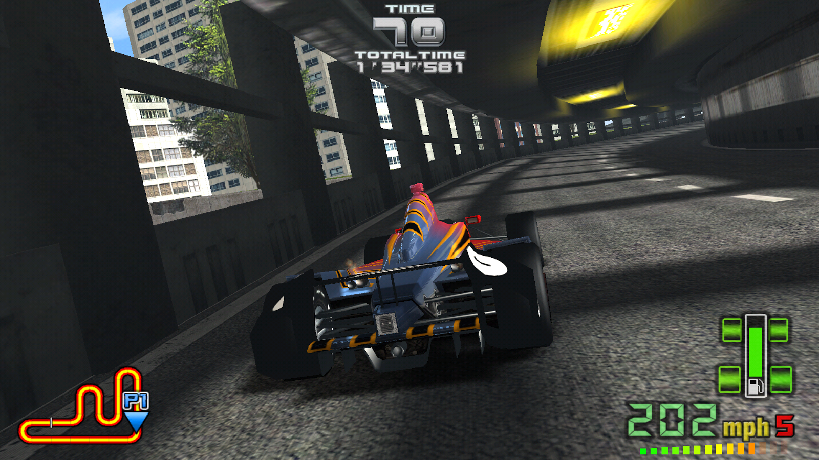 INDY 500 Arcade Racing: captura de tela