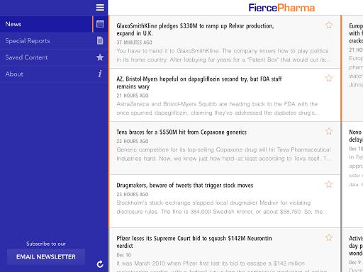 【免費新聞App】FiercePharma-APP點子