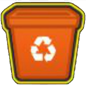 Select the Recycle Items