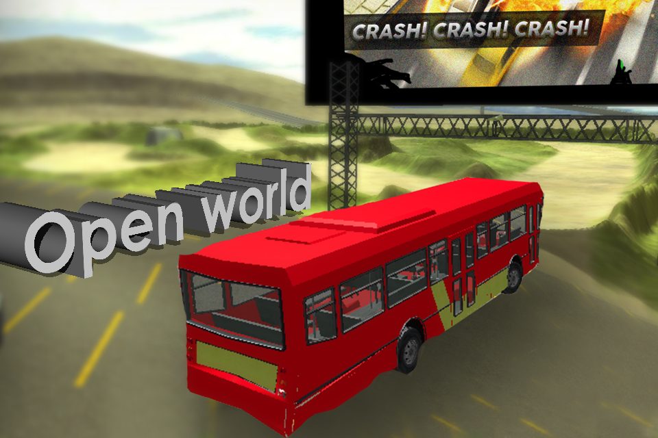 City Bus Driver Sim 3D- screenshot