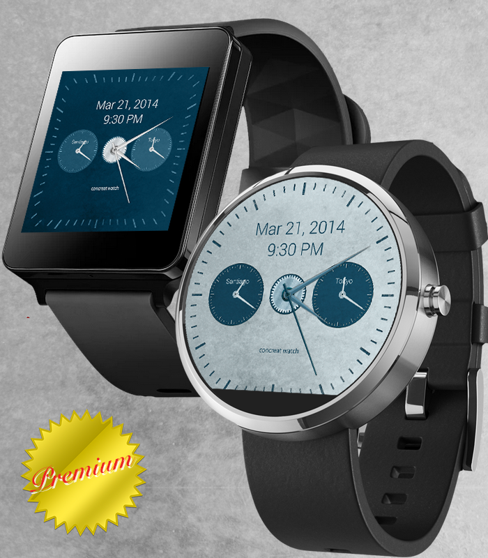 RichWatchface-TC Android Wear- screenshot