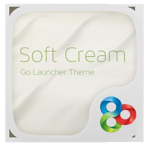 Soft cream GO Launcher Theme LOGO-APP點子